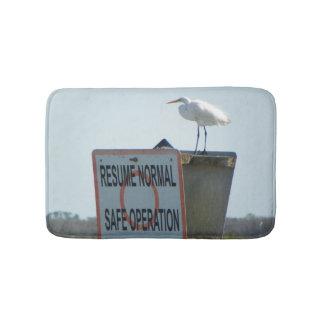 Tapete De Banheiro Esteira de banho náutica do sinal