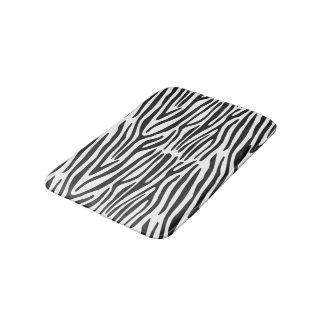 Tapete De Banheiro Esteira de banho preto e branco do impressão da