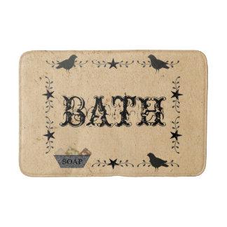 Tapete De Banheiro Esteira de banho primitiva do banho
