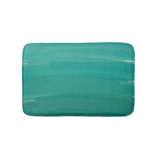Tapete De Banheiro Esteira de banho verde de Ombre