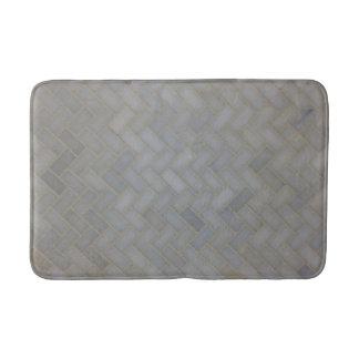 Tapete De Banheiro Esteira de chá de pedra do olhar do azulejo
