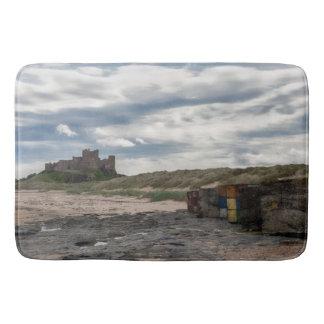 Tapete De Banheiro Esteira litoral do castelo de Bamburgh