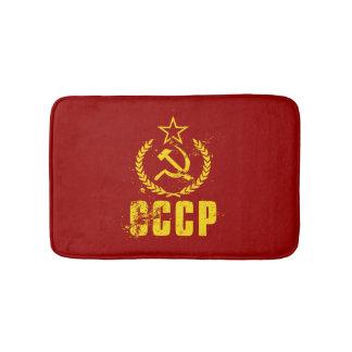Tapete De Banheiro Esteiras de banho comunistas da bandeira do