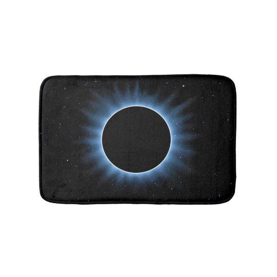 Tapete De Banheiro Esteiras de banho do eclipse solar