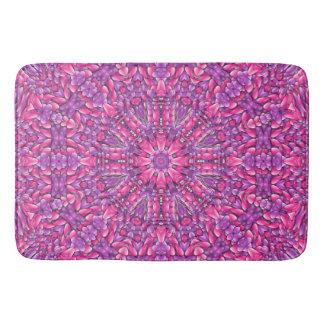Tapete De Banheiro Esteiras de banho roxas cor-de-rosa do