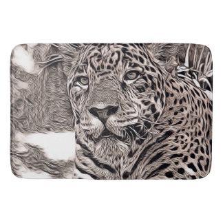 Tapete De Banheiro estilo rústico - jaguar