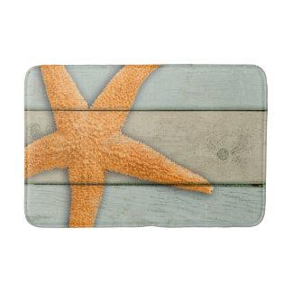 Tapete De Banheiro Estrela do mar alaranjada