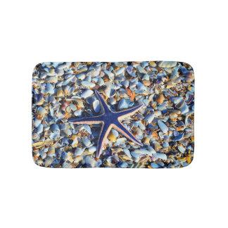 Tapete De Banheiro Estrela do mar chique e Seashells
