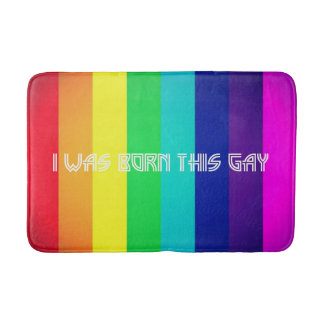 Tapete De Banheiro Eu era nascido este gay