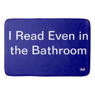 Tapete De Banheiro Eu li mesmo na esteira de banho do banheiro