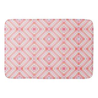 Tapete De Banheiro Eu prefiro a esteira cor-de-rosa do banho/cozinha