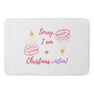 Tapete De Banheiro Feliz Natal