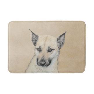 Tapete De Banheiro Filhote de cachorro de Chinook (orelhas aguçado)