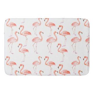 Tapete De Banheiro Flamingos cor-de-rosa