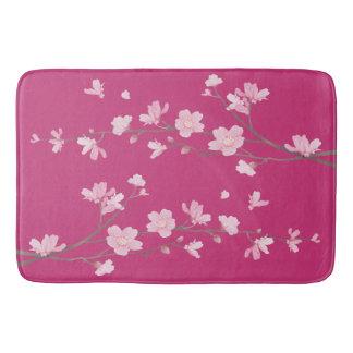Tapete De Banheiro Flor de cerejeira - magenta