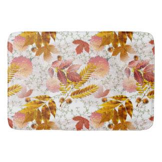 Tapete De Banheiro Folhas de outono & crisântemos #10