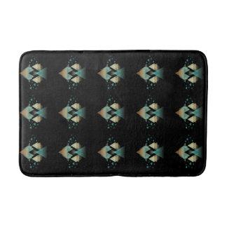 Tapete De Banheiro Formulários geométricos Pastel no preto