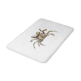 Tapete De Banheiro Foto escura do caranguejo