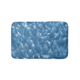Tapete De Banheiro fotografia azul fresca bonita dos cristais de gelo