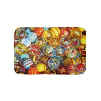 Tapete De Banheiro fotografia de mármore de vidro colorida bonita das