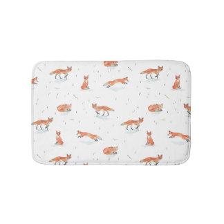 Tapete De Banheiro Fox do inverno