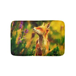 Tapete De Banheiro Fox do primavera