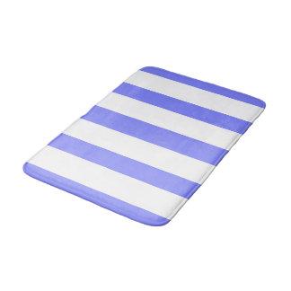 Tapete De Banheiro FRESH-STRIPES-Blueberry_White_Multi-Sizes