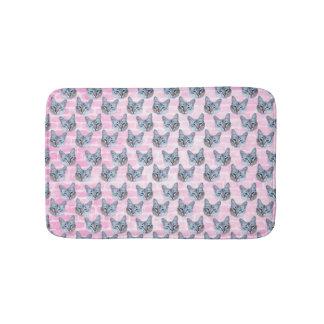 Tapete De Banheiro Gato de Tito do rosa Pastel