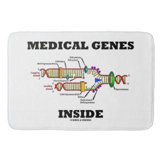 Tapete De Banheiro Genes médicos dentro das genéticas da réplica do