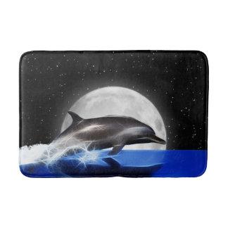 Tapete De Banheiro Golfinho da lua