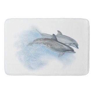 Tapete De Banheiro Golfinhos brincalhão