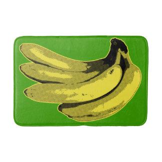 Tapete De Banheiro Gráfico amarelo da banana do pop art