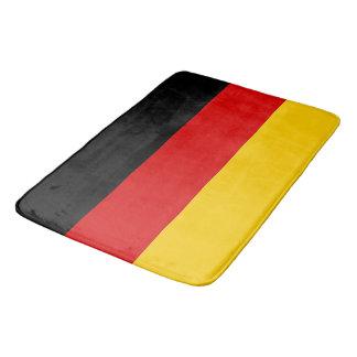 Tapete De Banheiro Grande esteira de banho com a bandeira de Alemanha