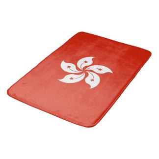 Tapete De Banheiro Grande esteira de banho com a bandeira de Hong