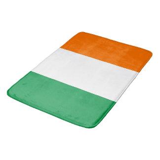 Tapete De Banheiro Grande esteira de banho com a bandeira de Ireland