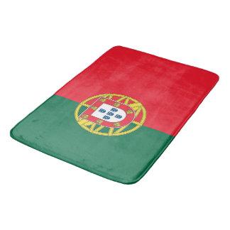 Tapete De Banheiro Grande esteira de banho com a bandeira de Portugal