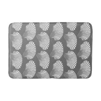 Tapete De Banheiro Impressão, cinzas/cinza e branco de bloco de Shell