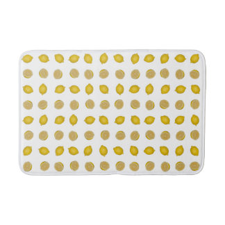 Tapete De Banheiro Impressão do limão