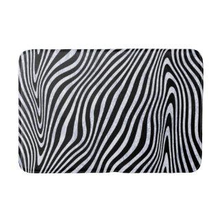Tapete De Banheiro Impressão gelado da zebra