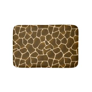 Tapete De Banheiro Impressão selvagem do safari da pele animal dos