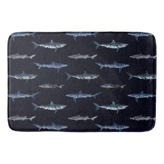 Tapete De Banheiro Invasão do tubarão