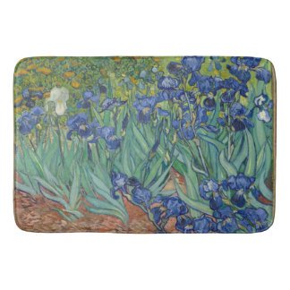 Tapete De Banheiro Íris do vintage de Van Gogh