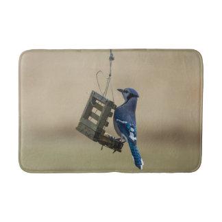 Tapete De Banheiro Jay azul de balanço