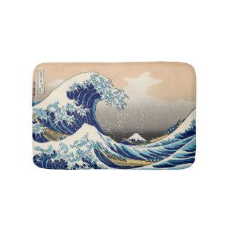 Tapete De Banheiro KATSUSHIKA HOKUSAI - A grande onda fora de
