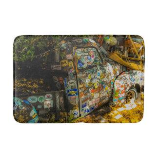 Tapete De Banheiro Key West é arte, camionete velho