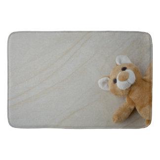 Tapete De Banheiro Lance Blaket do mármore do urso de ursinho