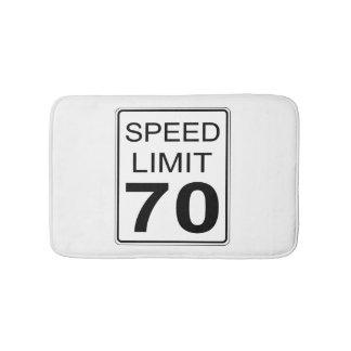 Tapete De Banheiro Limite de velocidade