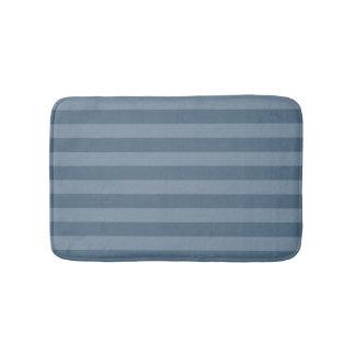 Tapete De Banheiro Listras azuis