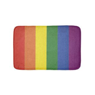 Tapete De Banheiro Listras do arco-íris