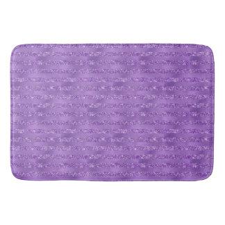 Tapete De Banheiro Listras Glittery roxas